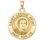 Saint Leonie Aviat Religious Medal  EXCLUSIVE