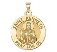 Saint Kenneth Religious Medal    EXCLUSIVE