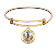 Saint Lazarus Expandable Color Religious Bracelet