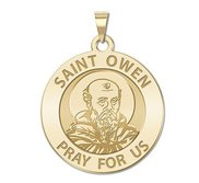 Saint Owen Religious Medal    EXCLUSIVE