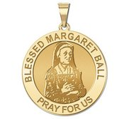 Blessed Margaret Ball Religious Medal    EXCLUSIVE