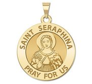 Saint Seraphina Religious Medal  EXCLUSIVE