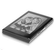 Metal Photo Engraved Card Holder