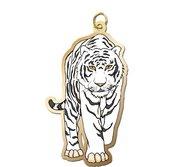 White Tiger Charm