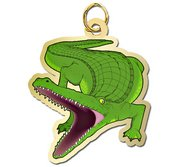 Alligator Charm