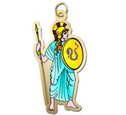 Athena   Minerva Charm