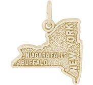 NEW YORK BUFFALO NIAGARA FALLS ENGRAVABLE