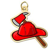 Firehat and Axe Charm