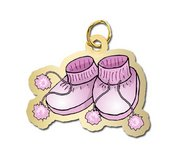 Baby Shoes   Girl Charm