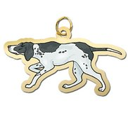 Dog   Pointer Charm