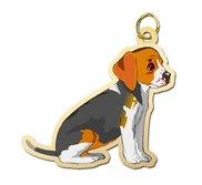 Dog   Beagle Charm