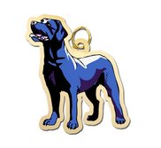 Dog    Black Labrador Retriever Charm