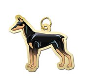Dog   Doberman Pincher Charm