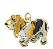 Dog   Bassett Hound Charm