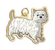 Dog   Westie Charm