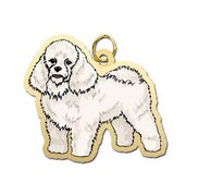 Dog   Poodle Charm