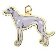 Dog   Greyhound Charm