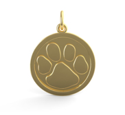 PAWPRINT ENGRAVABLE