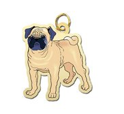 Dog   Pug Charm