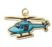 Helicopter Charm