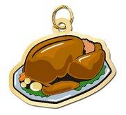 Turkey Dinner Charm