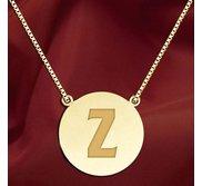 Initial  Z  Designer Pendant