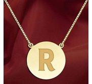 Initial  R  Designer Pendant
