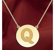 Initial  Q  Designer Pendant