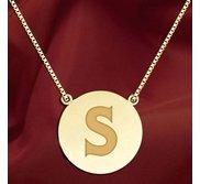 Initial  S  Designer Pendant