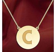 Initial  C  Designer Pendant