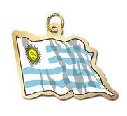 Uraguay Flag Charm