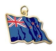 New Zealand Flag Charm