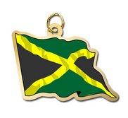 Jamaica Flag Charm
