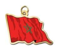 Morroco Flag Charm