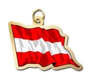 Austria Flag Charm