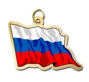 Russia Flag Charm