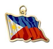 Phillipines Flag Charm