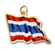 Thailand Flag Charm