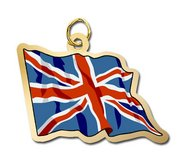 United Kingdom Flag Charm