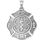 Firefighter EMT Badge