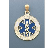 14k Yellow Gold EMT Charm