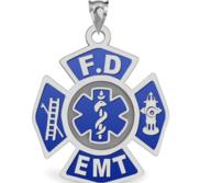 FIRE DEPARTMENT EMT CHARM