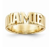 Woman s Name Ring