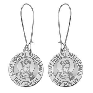 Saint Robert Bellarmine Earrings  EXCLUSIVE