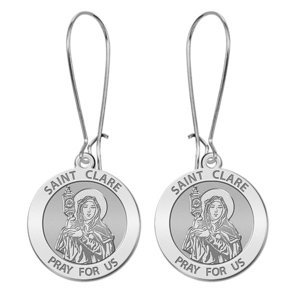 Saint Clare of Assisi Earrings  EXCLUSIVE