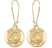 Saint Rose of Lima Earrings  EXCLUSIVE