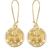 Saint Guy of Pomposa Earrings  EXCLUSIVE