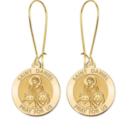 Saint Daniel the Stylite Earrings  EXCLUSIVE