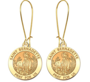 Saint Bernadette Earrings  EXCLUSIVE