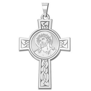 Ecce Homo Cross Religious Medal   EXCLUSIVE